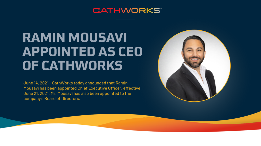 Ramin Mousavi appointed as CEO of CathWorks
